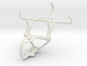 Controller mount for PS3 & Alcatel Pixi 3 (3.5) Fi in White Natural Versatile Plastic