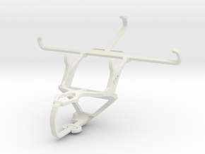 Controller mount for PS3 & BlackBerry Leap in White Natural Versatile Plastic