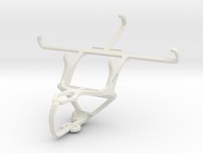 Controller mount for PS3 & HTC Desire 616 dual sim in White Natural Versatile Plastic