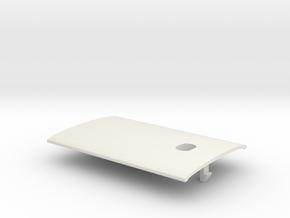 009 Sentinel - Part 7 (Roof) in White Natural Versatile Plastic