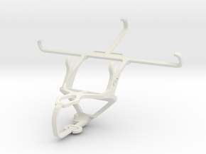 Controller mount for PS3 & LG GX F310L in White Natural Versatile Plastic