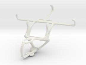 Controller mount for PS3 & LG L Prime in White Natural Versatile Plastic