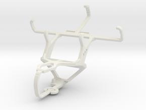 Controller mount for PS3 & NIU Niutek 3.5D in White Natural Versatile Plastic