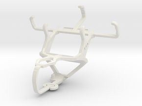 Controller mount for PS3 & Nokia 130 in White Natural Versatile Plastic