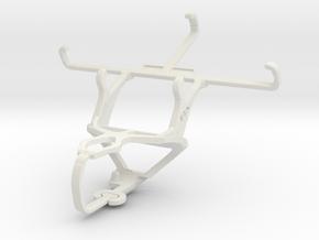 Controller mount for PS3 & Plum Axe Plus in White Natural Versatile Plastic