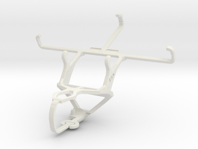 Controller mount for PS3 & Philips W6610 in White Natural Versatile Plastic