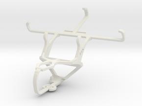 Controller mount for PS3 & Prestigio MultiPhone 54 in White Natural Versatile Plastic