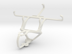 Controller mount for PS3 & Samsung G3812B Galaxy S in White Natural Versatile Plastic