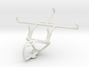 Controller mount for PS3 & Spice Smart Flo 508 (Mi in White Natural Versatile Plastic