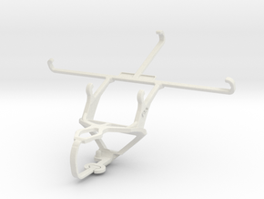 Controller mount for PS3 & verykool s6001 Cyprus in White Natural Versatile Plastic