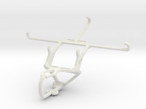 Controller mount for PS3 & Vodafone Smart 4 max in White Natural Versatile Plastic