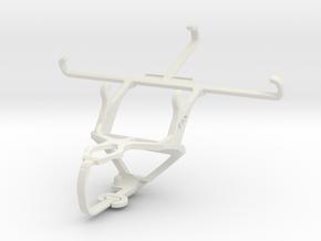 Controller mount for PS3 & ZTE Nubia Z7 mini in White Natural Versatile Plastic