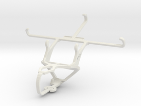 Controller mount for PS3 & ZTE Nubia Z7 in White Natural Versatile Plastic