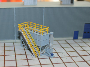 N Scale Dust Filter in Smooth Fine Detail Plastic