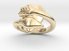 Cupido Ring 25 - Italian Size 25 in 14K Yellow Gold