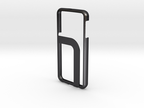 Galaxy S6 Case in Polished and Bronzed Black Steel