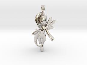 My Little Pony - Alicorn Pendant in Rhodium Plated Brass