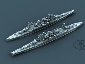1/4800 IJN CA Ibuki [1945] (x2) in Smooth Fine Detail Plastic