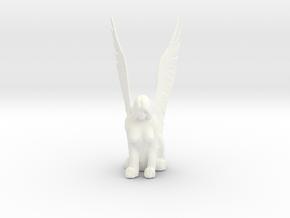 Sphinx in White Processed Versatile Plastic