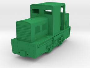 Porteclé - Locotracteur Billard T75D in Green Strong & Flexible Polished