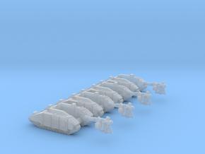 1/285 Guild Light Self-Propelled Gun Battery in Smooth Fine Detail Plastic