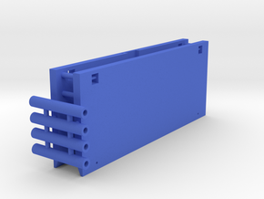 Trench Shield - Trench Protection 1-87 HO Scale in Blue Processed Versatile Plastic