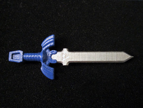 Master Sword in Frosted Ultra Detail