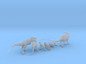 Mini Prehistoric Collection 3 in Smoothest Fine Detail Plastic