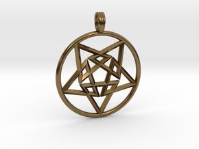 TRI-STAR FIVE in Polished Bronze