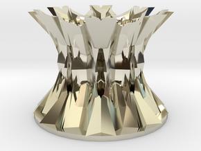 69x89 Snowflake Pencil Holder in 14k White Gold