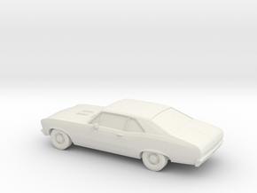 1/64 1969 Chevy Nova SS in White Natural Versatile Plastic