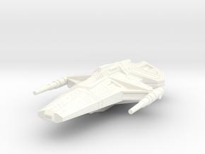 Scorpion in White Processed Versatile Plastic