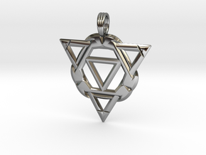 APHELION THRUST in Fine Detail Polished Silver