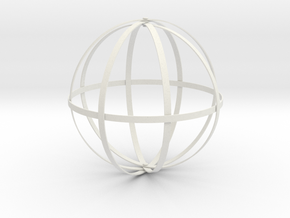Dyson Sphere in White Natural Versatile Plastic
