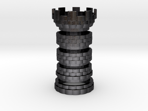 The Tower [FINAL] Seperated in Polished and Bronzed Black Steel