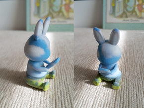 Phoneholic Rabbit - sky in Full Color Sandstone