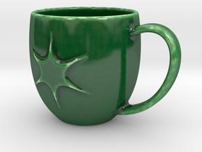 SparkMug in Gloss Oribe Green Porcelain