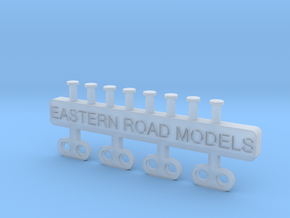 Caboose Electric Markers S Scale in Smooth Fine Detail Plastic