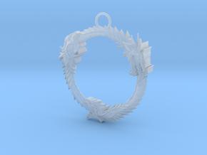 Elder Scroll Pendant Slot in Smooth Fine Detail Plastic