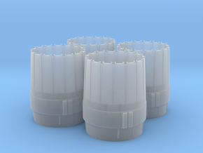 WING-X HSBRO ENGINE NOZZLES in Smooth Fine Detail Plastic