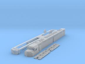 TT Scale DD40ax in Smooth Fine Detail Plastic