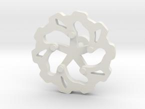 Moto: Rotorlink in White Natural Versatile Plastic