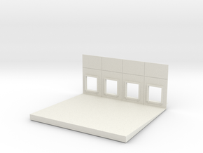 Middle Docks (4) Load In in White Natural Versatile Plastic