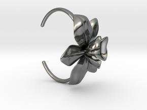 Orchid Bracelet- Metal Version in Polished Silver