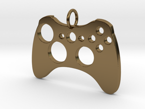 Xbox One Controller in Polished Bronze