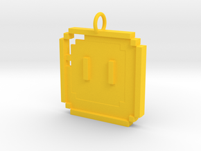 Mario Box in Yellow Processed Versatile Plastic