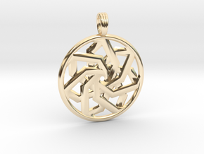 PEACEFUL CLARITY in 14K Yellow Gold