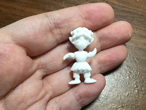 Pine Cone Sprite BJD fairy: super tiny size in White Natural Versatile Plastic