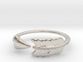 Arrow Ring in Platinum: 3 / 44