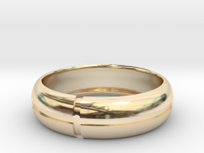 WB-v7 in 14K Gold